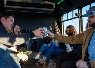 Cheers to Fun on the party Bus